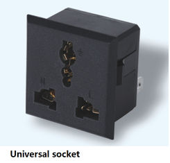 China Universal Socket UPS Accessories Europe Plug English Standard / American Standard supplier