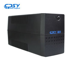 China Plastic Material Line Interactive Ups 600va/360w LED Display Simulated Sine Wave supplier