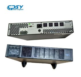 China 2U Height Single Phase Online UPS 1kva 2kva 3kva 6A Maximum Charging Current distributor
