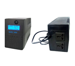 China Mini Small 12V 7Ah Line Interactive Ups Online Power Supply 800VA 480W factory