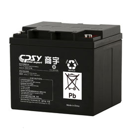 China 12v 38ah Battery For Ups Uninterrupted Power Supply 198*166*180mm Dimensions distributor