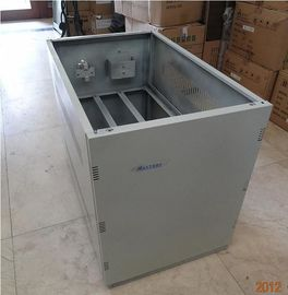China ROHS UPS Battery Cabinet , A10 Telecom Cabinet With 10units Batteries Inside distributor