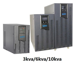 China 3KVA - 15KVA Outdoor UPS Battery Backup Armenia Led / Lcd Ups Power Supply distributor