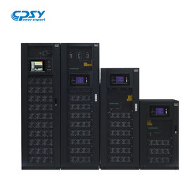 China Three Phase Modular Online UPS 380V 400V 415VAC 485*751*1033 Cabinet Size distributor