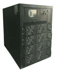 China 3/1 Phase Modular UPS System 90kva Modular Design , Double-Conversion Online UPS distributor