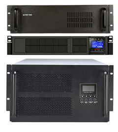 China One Year Warranty Single Phase Line Interactive Ups 2kva With LCD Display factory