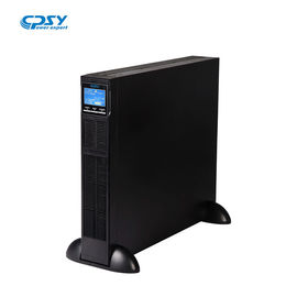 China 50Hz/60Hz Rack Mount UPS Online 2kva Uninterrupted Power Supply LCD Display factory
