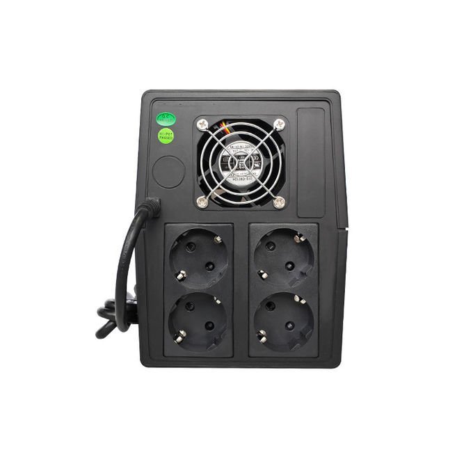 2000VA/1200W Offline UPS System 50Hz ~ 60Hz Frequency ROHS Certification