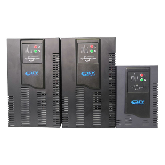 Single phase Double Conversion High Frequency Online UPS for workstartion, department